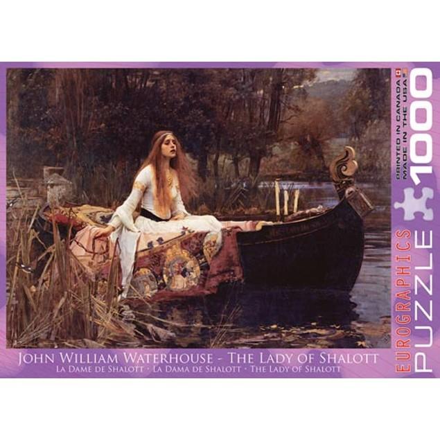Lady of Shalott John William Waterhouse 1000 Piece Puz, 1,000 Piece Puzzles