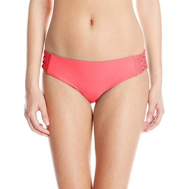 New Body Glove Women's Smoothies Ruby Solid Bikini Bottom Sz: M