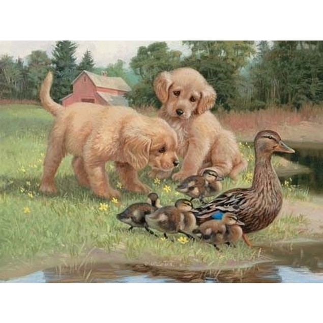 Follow The Leader 500 Piece Puzzle, 500 Piece Puzzle by Lang Companies