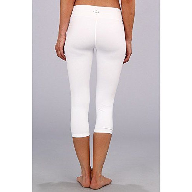 Beyond Yoga Women's Capri Legging White Pants SZ  XL