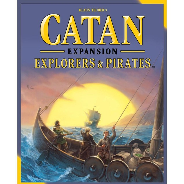 Catan Explorers and Pirates Expansion, Classic Games by Alliance Game Distr