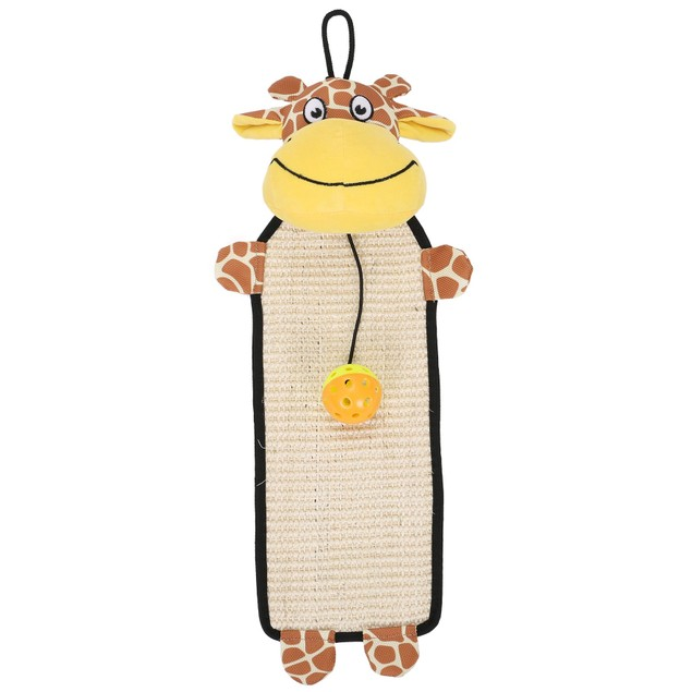 Pet Life Paw-Pleasant Sisal And Jute Hanging Carpet Kitty Cat Scratcher