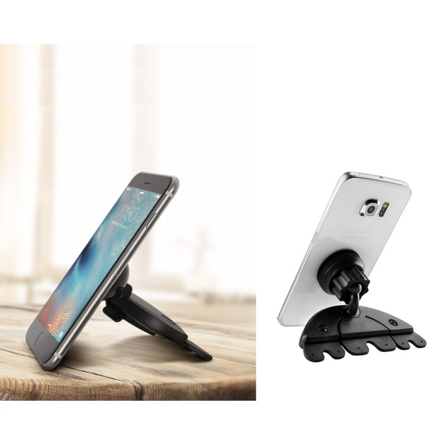 CD Slot Universal Smartphone Car Mount & Stand