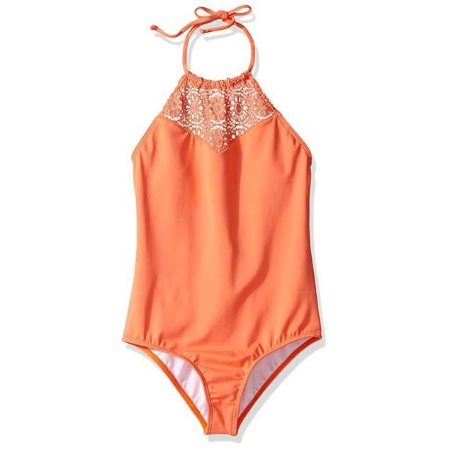 Billabong Big Girls' Just Beachy One Piece Swimsuit, Tutti Frutti,  Sz