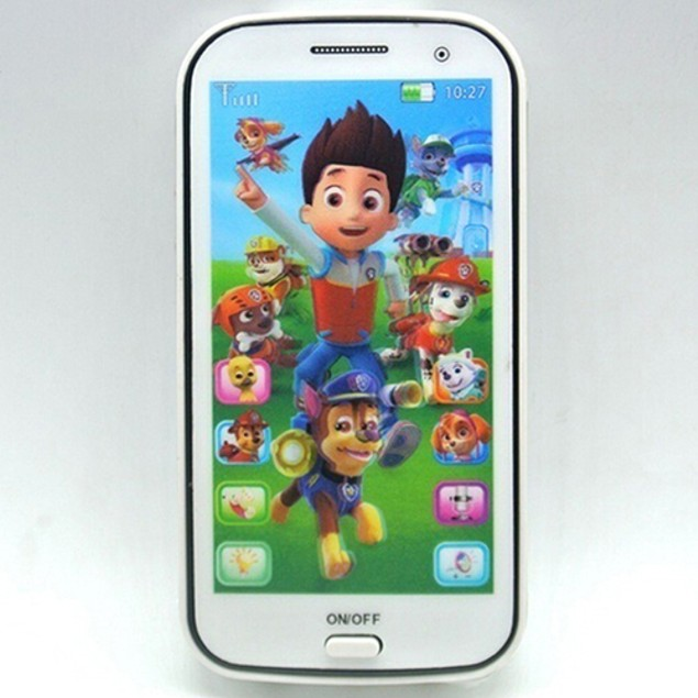 Kids Educational Story English Language Toy Cellphone