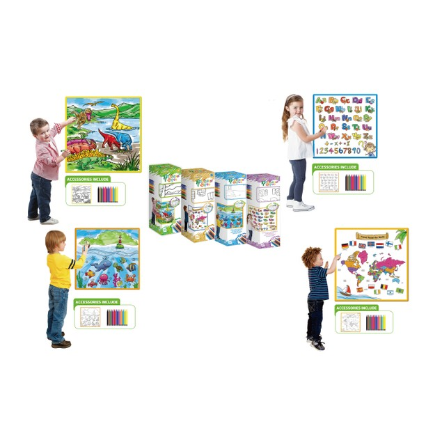 Zummy Washable Large Drawing and Doodle Mat For Kids | Free Shipping
