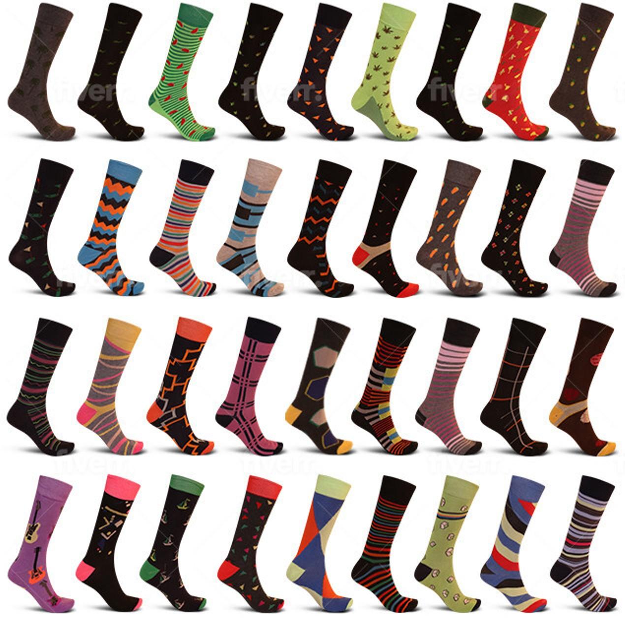 24-Pack Men's James Fiallo Premium Quality Dress Socks