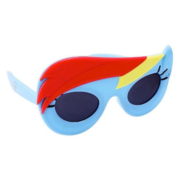 Officially Licensed My Little Pony Rainbow Dash Sun-Staches Brony TV Show