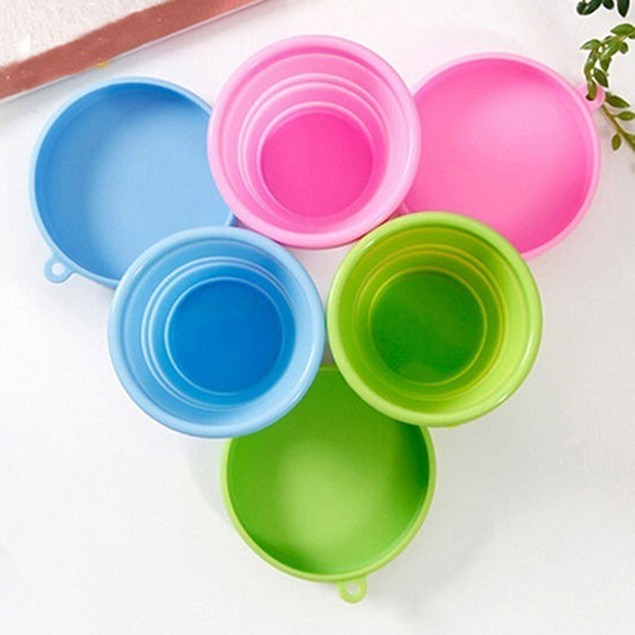 Portable Home Travel Camping Silicone Telescopic Drinking Folding Cup