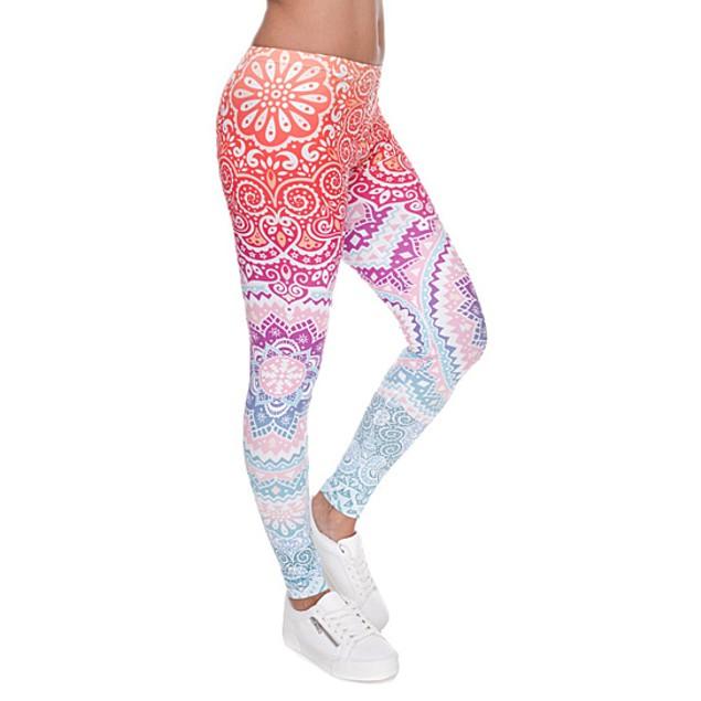 Ombre Printed Leggings