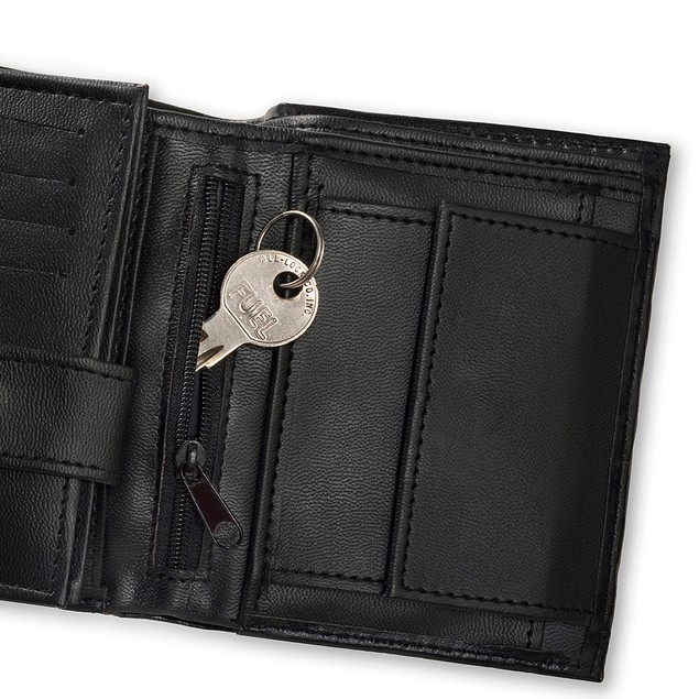 20-POCKET Organization Wallet with RFID - BLOCKING Identity Protection