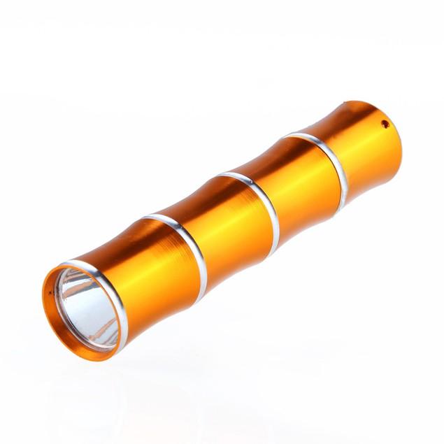 Mini Portable Supper Bright Flashlight Bamboo Shape LED Flashlights