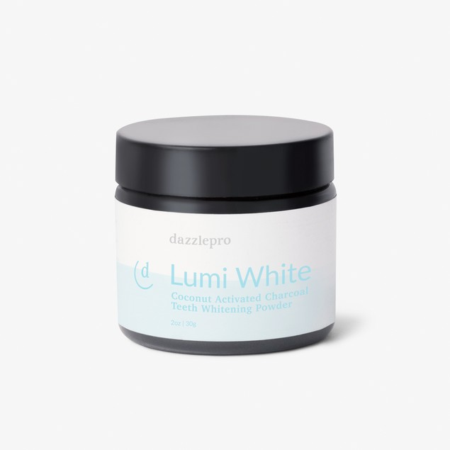 Dazzlepro Lumi White Coconut Activated Charcoal Teeth Whitening Powder