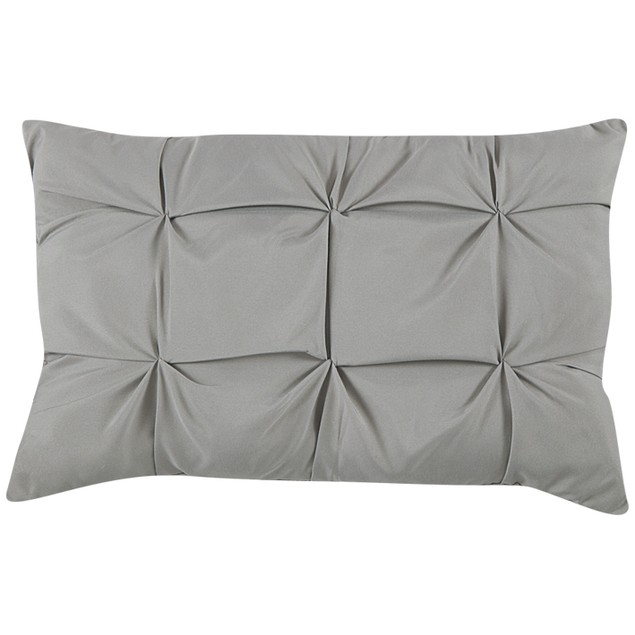 Chic Home 3/4 Piece Finn Pleated Pintuck REVERSIBLE Duvet Cover Set