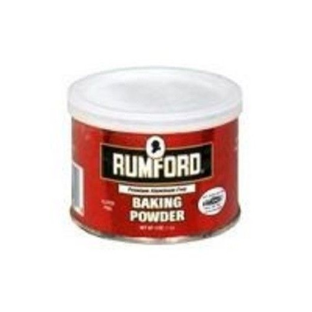 Rumford Aluminum Free Baking Powder 4 oz Can