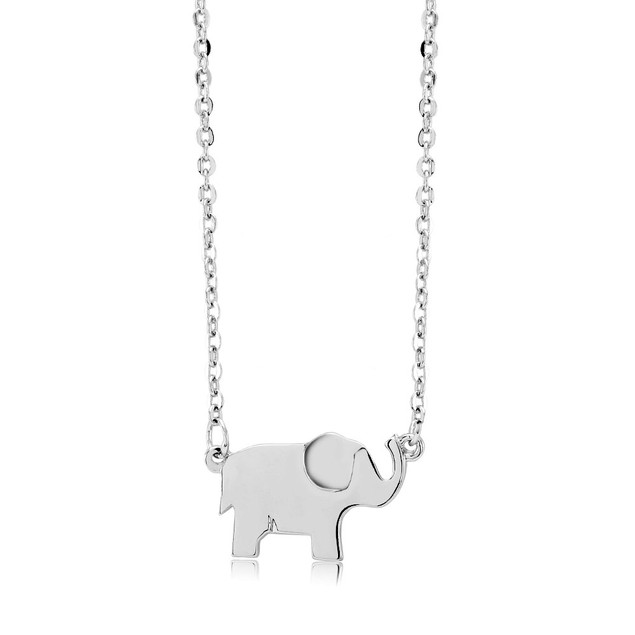 Elephant Pendant Necklace - 3 Colors