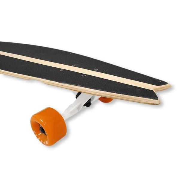 39.5 Inch Complete Cruiser Fishtail Longboard With Longboard Skateboards