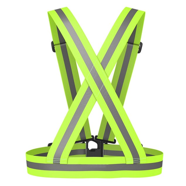 2-Pack Unisex High-Visibility Reflective Running Vest