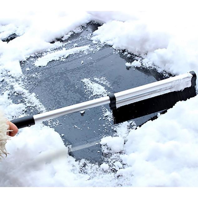 """Zone Tech Extendable Telescopic Ice Scraper 17""""-24"""""""