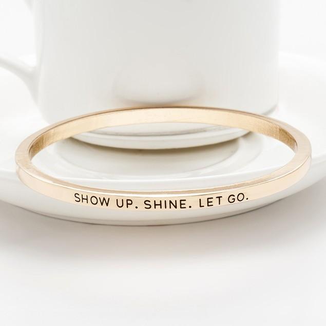 Show Up Shine Bangle Bracelet - 2 Colors