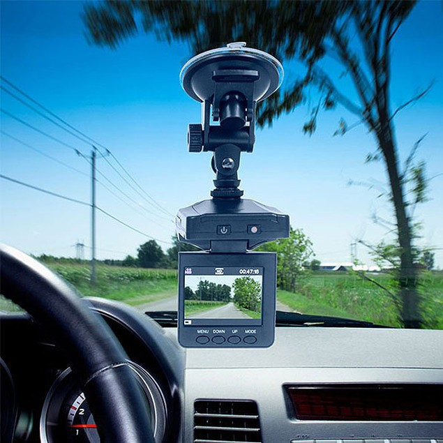 """HD Portable Dash Cam DVR System with 2.5"""" Screen"""