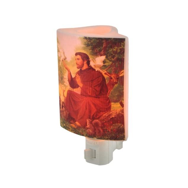 Saint Francis Of Assisi Porcelain Oil Warmer Night Night Lights