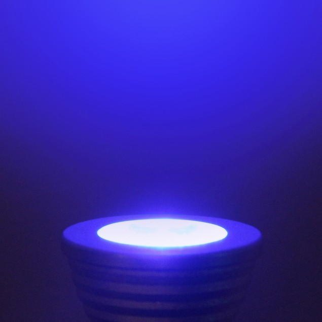 2 Pack: LED Light Bulb with Remote Control