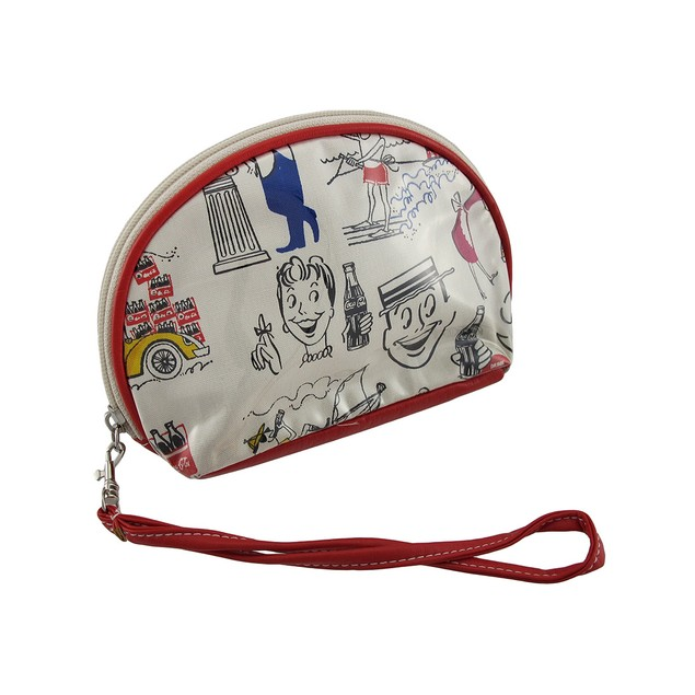 Coca-Cola Everyday Cosmetic Bag/Wristlet Womens Wristlet Handbags