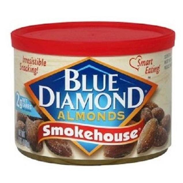 Blue Diamond Smokehouse Almonds 6 oz Can
