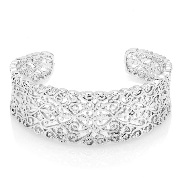 Filgree Cuff Bracelet