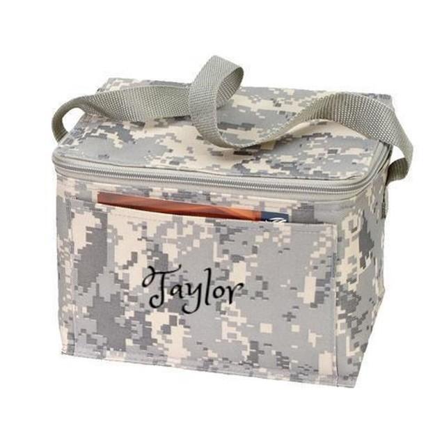 Personalized Digi Camo 6-Pack Cooler Bag / Lunch Bag