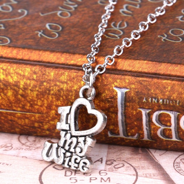 I Love My Wife Necklace