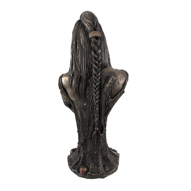Bronze Breastfeeding Goddess Danu Mother Earth Bust Sculptures