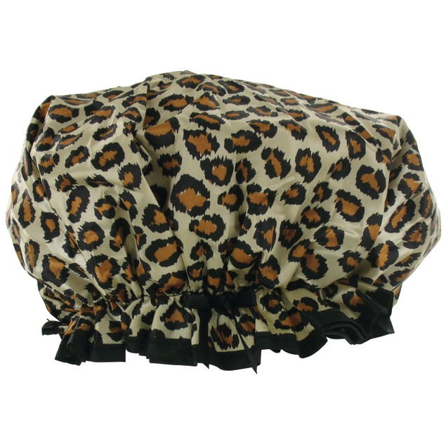 Mademoiselle Designer Shower Cap with Pouch