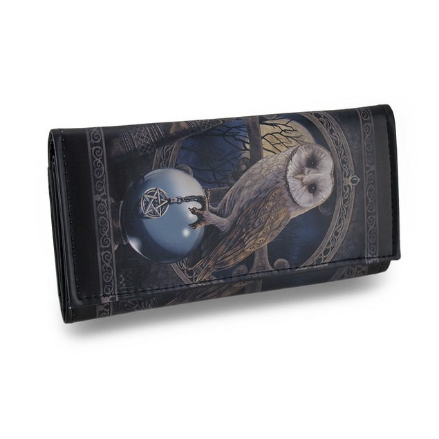 Spell Keeper Faux Leather Gothic Fantasy Wallet Womens Wallets