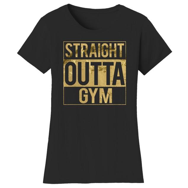Gym Short Sleeve Crew Neck Graphic Tshirt