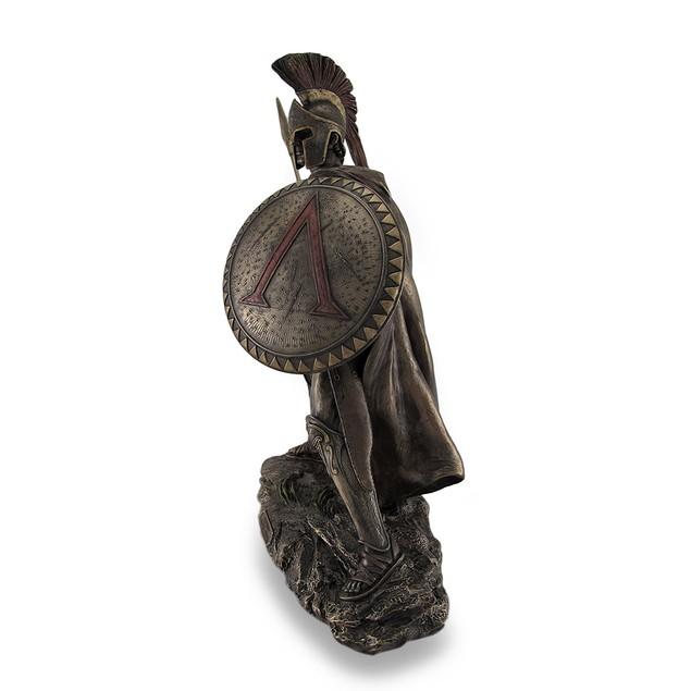 Leonidas, Greek Warrior King, Bronzed Sculptural Statues