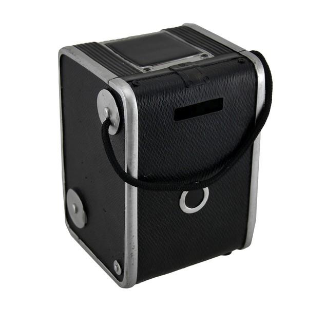 Retro Duaflex Vintage Style Camera Coin Bank Toy Banks