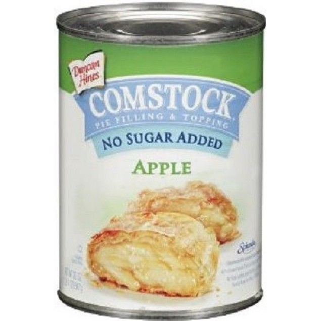 Duncan Hines Comstock No Sugar Added Apple Pie Filling & Topping 21oz