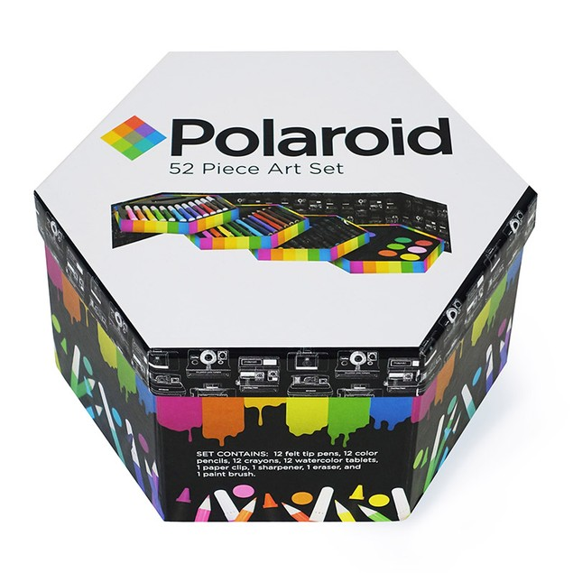 52-Piece Polaroid Art Set