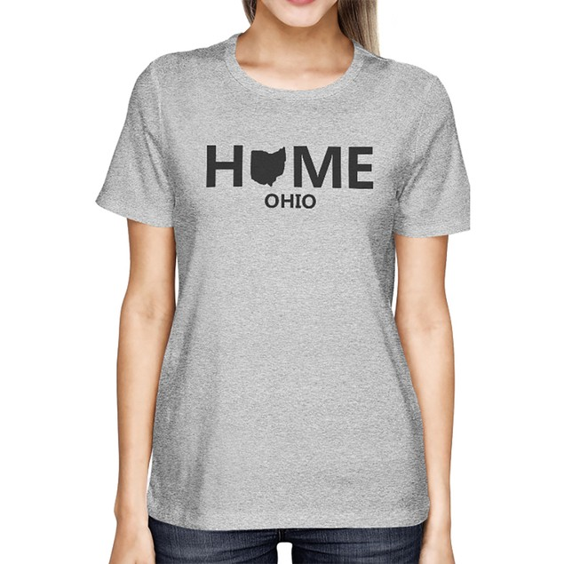 Home OH State Grey Women's T-Shirt