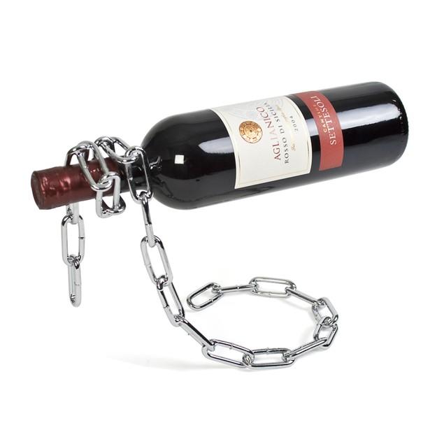 Magic Chain Wine Holder