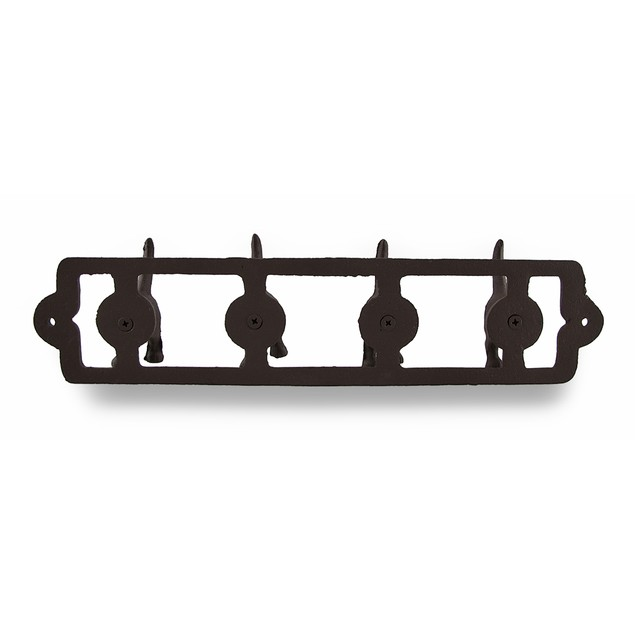 Rustic Finish Cast Iron Dog Tails Wall Hooks Decorative Wall Hooks
