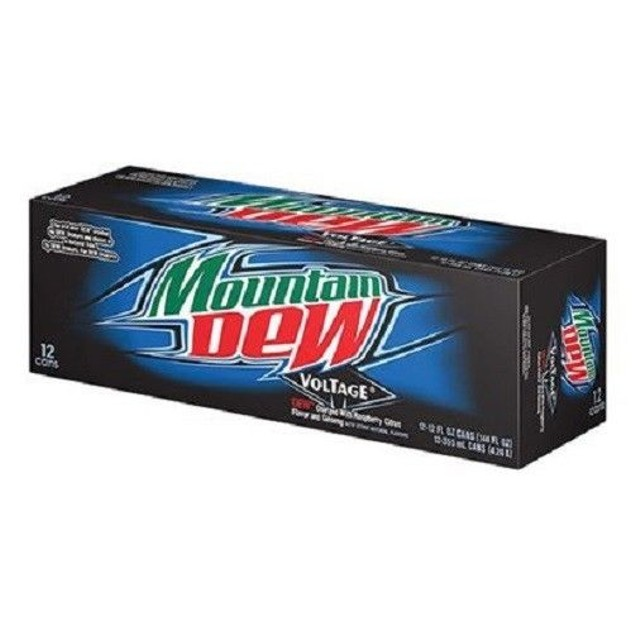 Mountain Dew Voltage Soda 12 pack