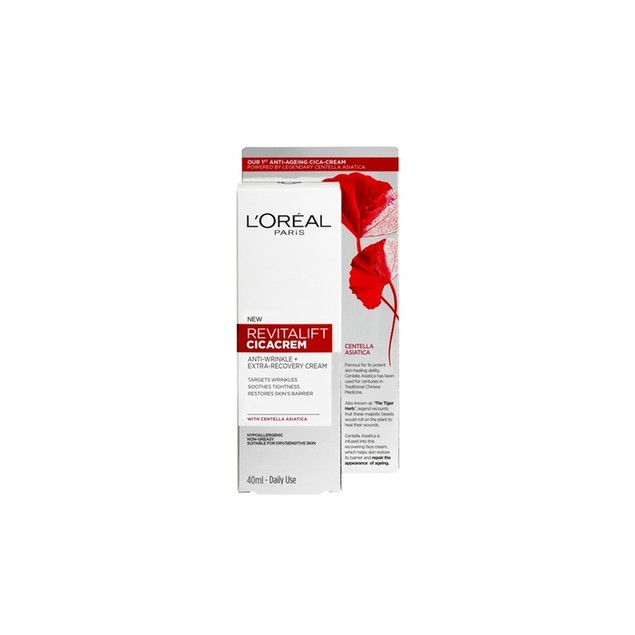 L'oreal Revitalift Eye & Face Anti Wrinkle Recovery Cream & Centella