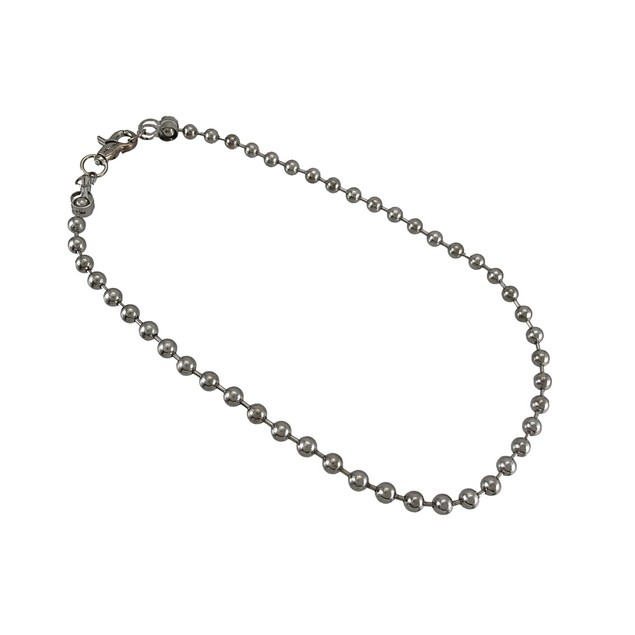 29 Inch Chrome Plated Round Bead Link Wallet Chain Mens Wallet Chains