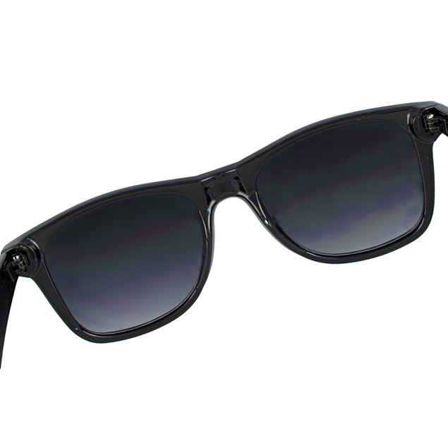 Retro Style 80`S Black Frame Rasta Sunglasses Mens Sunglasses