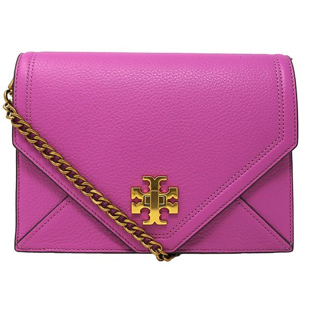 Tory Burch Women's Kira Envelope Leather Crossbody Cross Body Bag