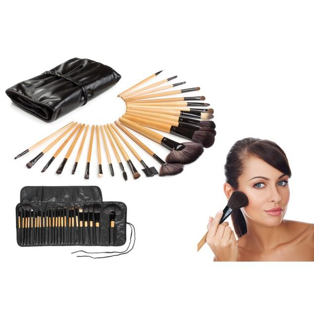 Makeup Brush Set (24 Pieces)