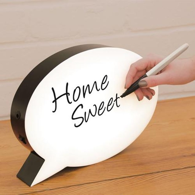 LED Writing Board with 3 Markers and Eraser